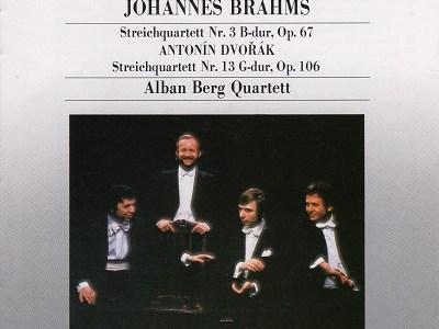 アルバン・ベルク四重奏団 ブラームス第3番(1977.6録音)ほかを聴いて思ふ