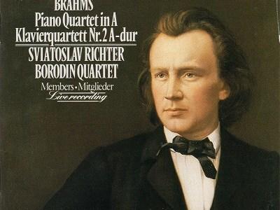 リヒテル ボロディン四重奏団員 ブラームス ピアノ四重奏曲第2番(1983.7.8Live)を聴いて思ふ