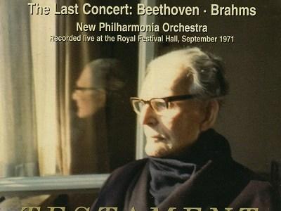 クレンペラー指揮ニュー・フィルハーモニア管 最後のコンサート(1971.9.26Live)を聴いて思ふ