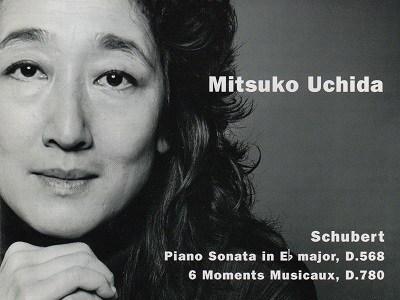 内田光子 シューベルト 楽興の時D780ほか(2001.8録音)を聴いて思ふ