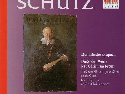 マウエルスベルガー指揮ドレスデン聖十字架合唱団 シュッツ「音楽による葬送(ムジカリッシェ・エクセクヴィーエン)」(1968.11録音)ほかを聴いて思ふ