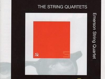 エマーソン弦楽四重奏団 ショスタコーヴィチ 弦楽四重奏曲第4番(1999.6&7Live)ほか