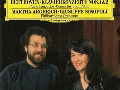 アルゲリッチ シノーポリ指揮フィルハーモニア管 ベートーヴェン協奏曲第2番ほか(1985.5録音)を聴いて思ふ