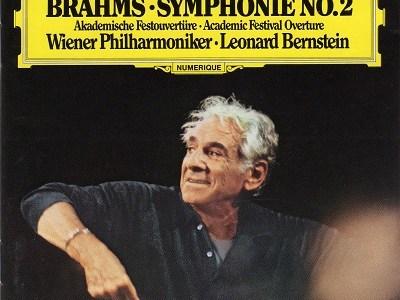 バーンスタイン指揮ウィーン・フィル ブラームス 交響曲第2番ほか(1982.9Live)を聴いて思ふ