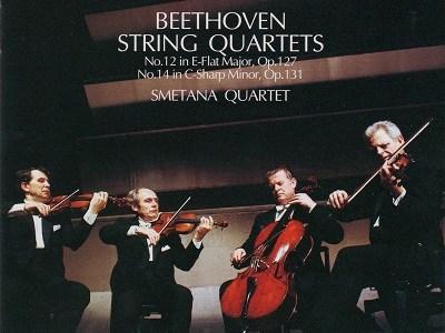 スメタナ四重奏団 ベートーヴェン四重奏曲第14番(1970.6録音)ほかを聴いて思ふ