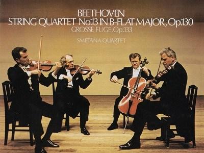 スメタナ四重奏団 ベートーヴェン 四重奏曲第13番作品130(1965.9-10録音)を聴いて思ふ