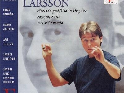 アルヴェ・テレフセン サロネン指揮スウェーデン放送響 ラーション ヴァイオリン協奏曲ほか(1993.6&8録音)