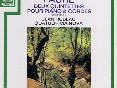 ユボー ヴィア・ノヴァ四重奏団 フォーレ ピアノ五重奏曲第2番ほか(1970録音)