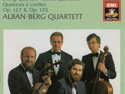 アルバン・ベルク四重奏団 ベートーヴェン 弦楽四重奏曲第12番作品127ほか(1981.12録音)