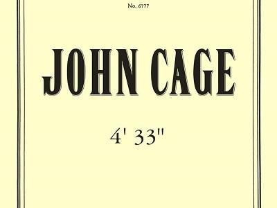 ジョン・ケージ 4分33秒(1952)