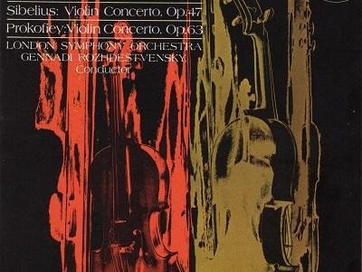 シェリング ロジェストヴェンスキー指揮ロンドン響 プロコフィエフ ヴァイオリン協奏曲第2番ほか(1965.7録音)