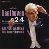 朝比奈隆指揮新日本フィル ベートーヴェン 交響曲第4番(1998.3.16Live)ほか