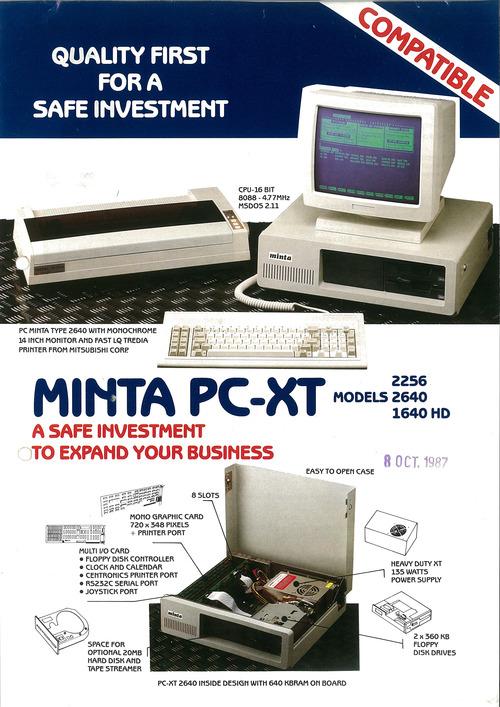 Minta PC-XT
