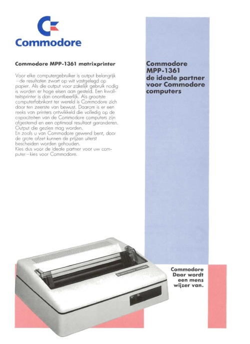 Commodore MPP-1361 Matrixprinter
