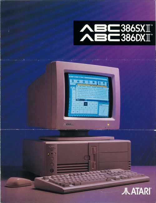 Atari ABC386SXII/ABC386DXII