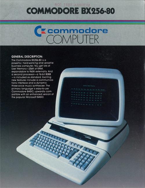 Commodore BX256-80