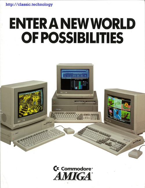 Commodore : Enter A New World Of Possibilities