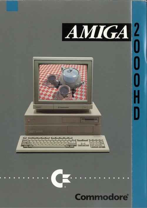 Commodore Amiga 2000HD