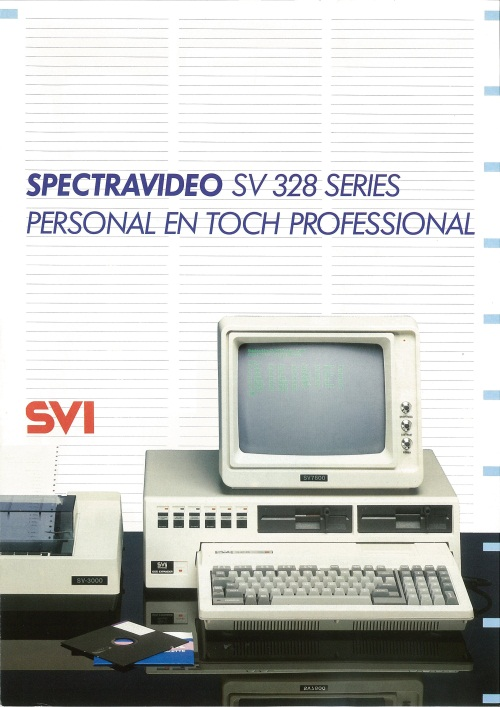 Spectravideo SV 328 Series Personal en Toch Professional