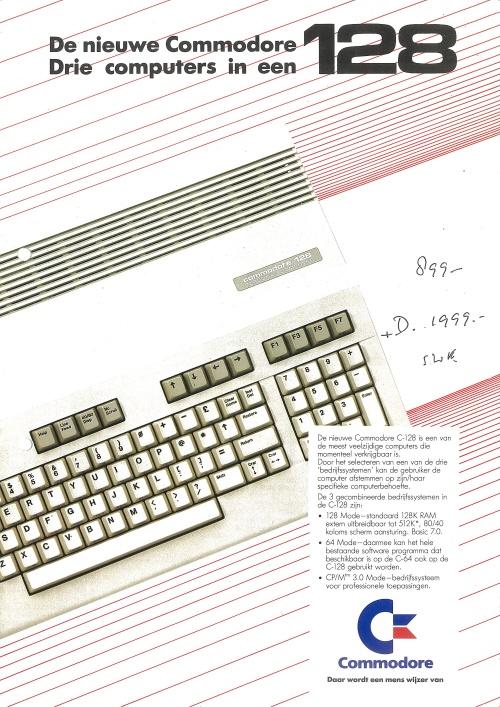 Commodore 128 (Dutch)
