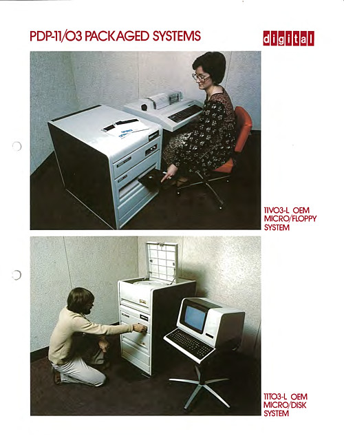 PDP-11/03 Packaged Systems