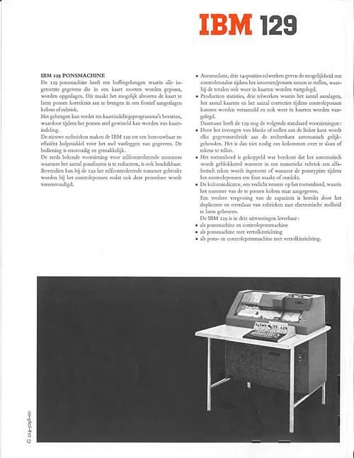 IBM 129