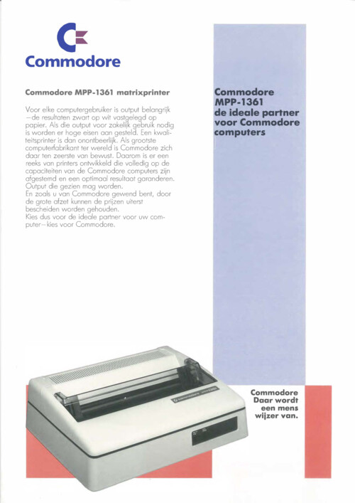 Commodore MPP-1361
