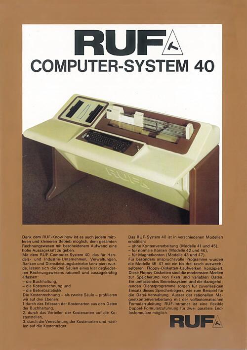 RUF Computer-System 40