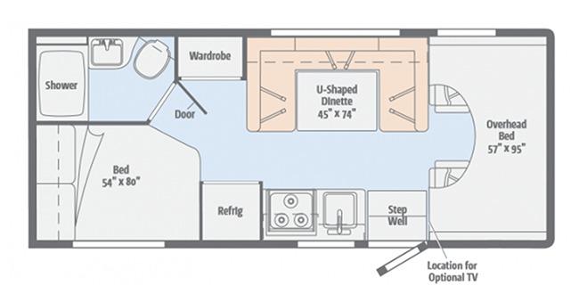 #19 Economy Class C Floor plan