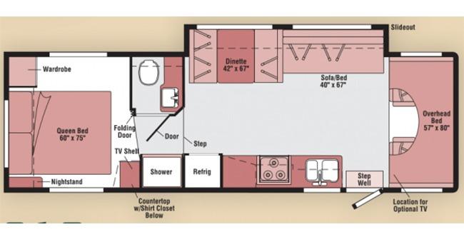 #22 Classic Class C Floorplan