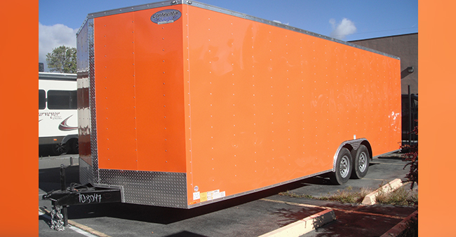 24×8.5 FOOT UTILITY TRAILER CAR HAULER