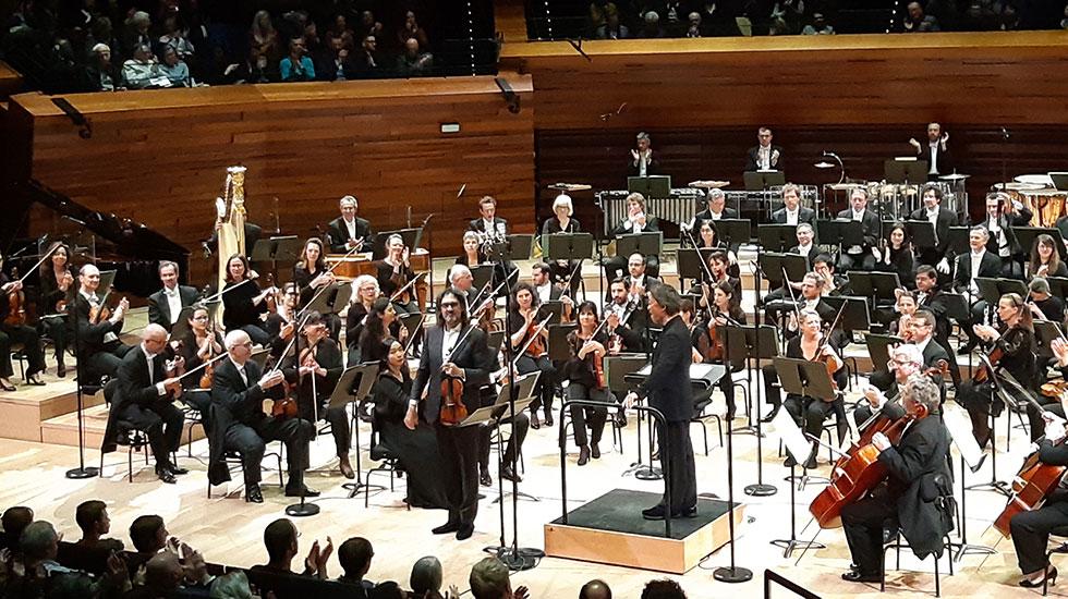 L'Orchestre Philharmonique de Radio France dirigé par Myung Whun Chung avec Leonidas Kavakos au violon