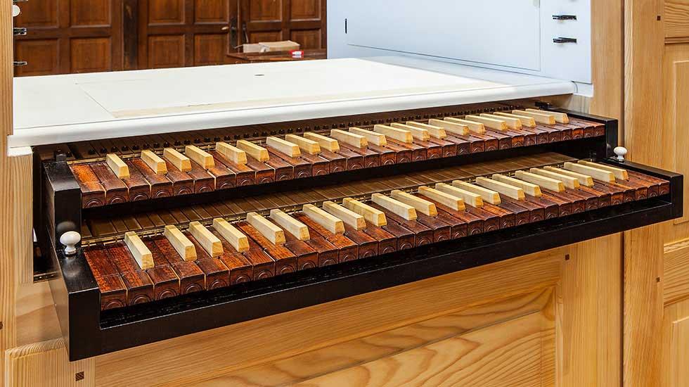 L'orgue positif Blumenroeder pour la Chapelle royale à Versailles