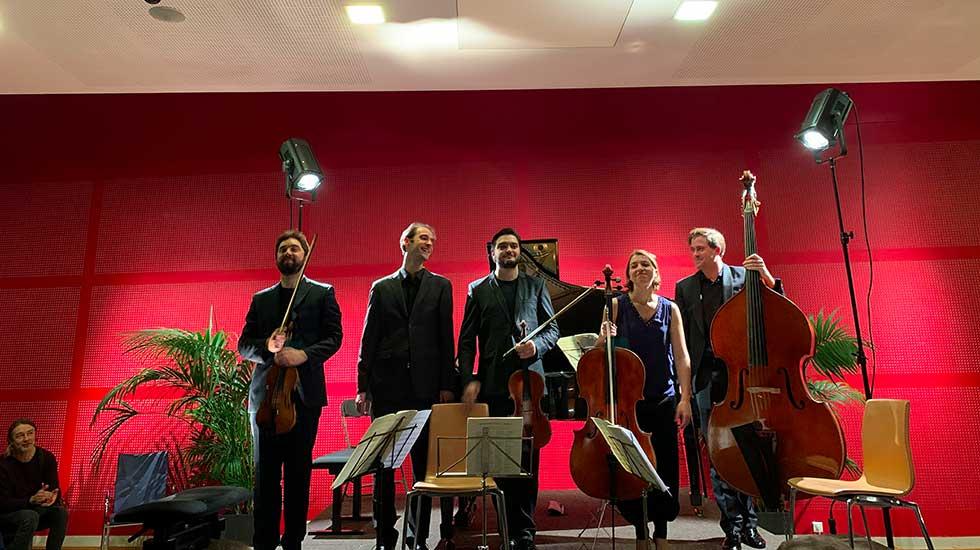 Tous les musiciens réunis à la Schubertiade de Sceaux