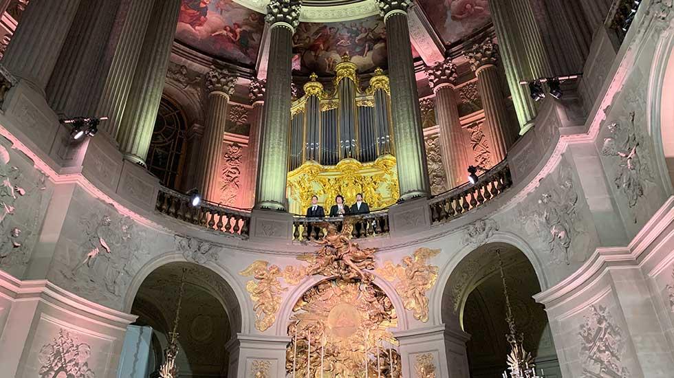 L'orgue de la Chapelle Royale