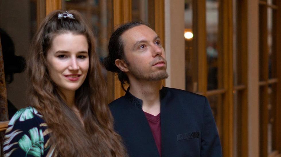 Cyrielle Golin avec Antoine Mourlas