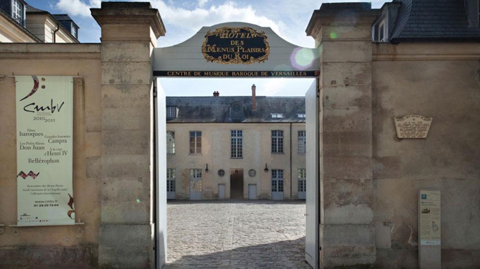Le CMBV à Versailles