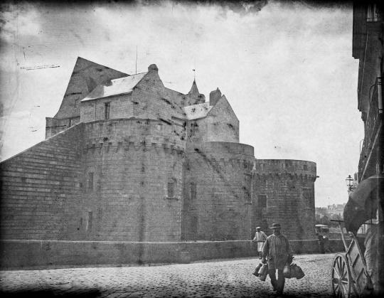 Nantes. Le Château des duc des Bretagne, août 1899