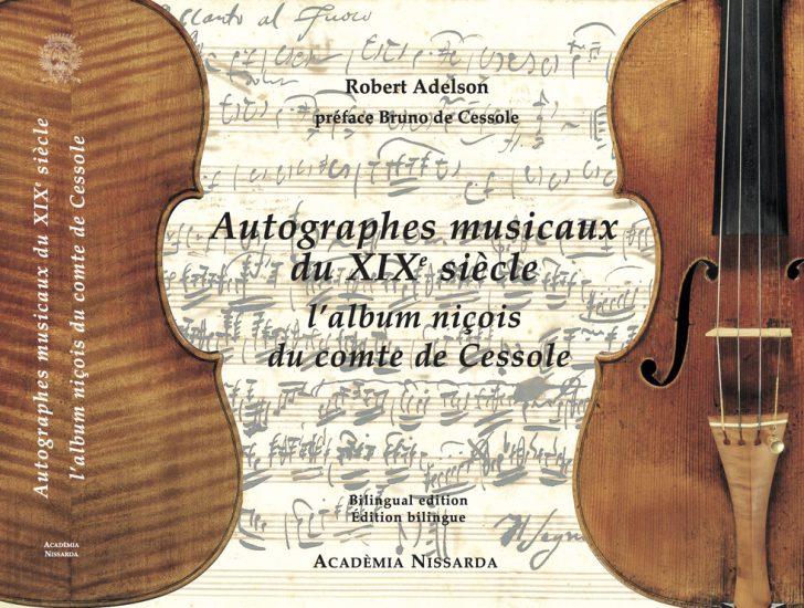 Autographes musicaux du XIXe siècle : L'album niçois du Comte de Cessole