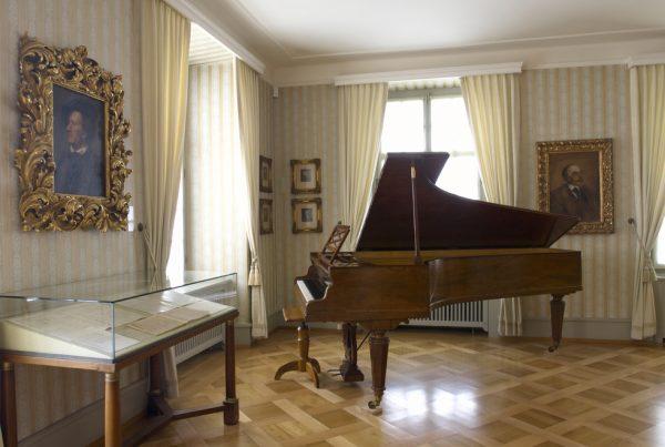 Piano Erard au Wagner Museum