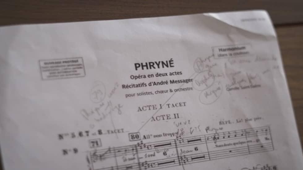 « Phryné » Opéra de Rouen