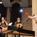 Lucile Richardot accompagnée par l'ensemble Correspondances © Royaumont