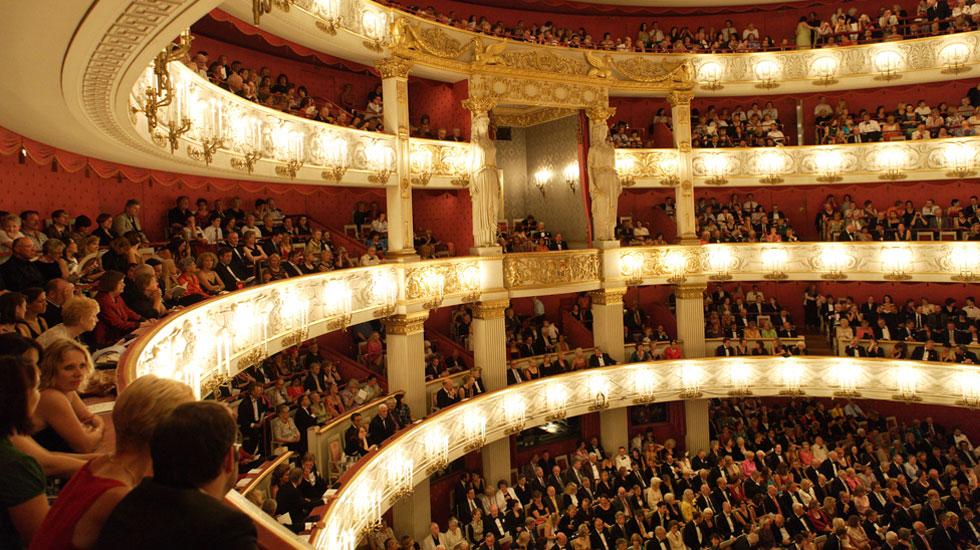 Le Nationaltheater à Munich © Wilfried Hoesl