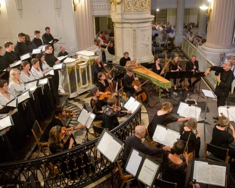 """Le """"Ring des Cantatas"""" au Bach Festival de Leipzig 2018 © Gert Mothes"""