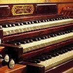L'orgue de l'abbaye de Royaumont © Michel Chassat