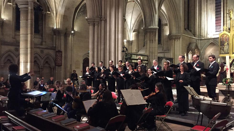L'Ensemble Zoroastre en concert à la Cathédrale Américaine © Simone Strähle