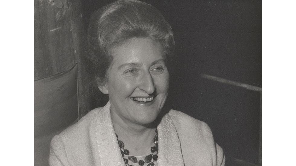 Portrait de Marie-Madeleine Duruflé