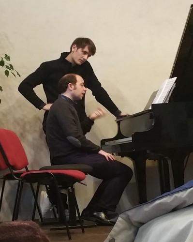 Master class de piano par François Dumont