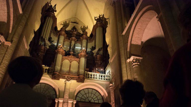 L'orgue de la basilique Saint-Sernin à Toulouse @ Thomas Guilin