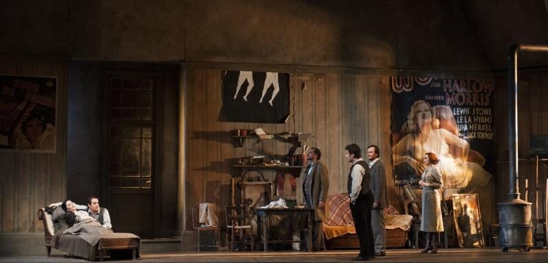 La Bohème © Opéra national de Paris / Julien Benhamou